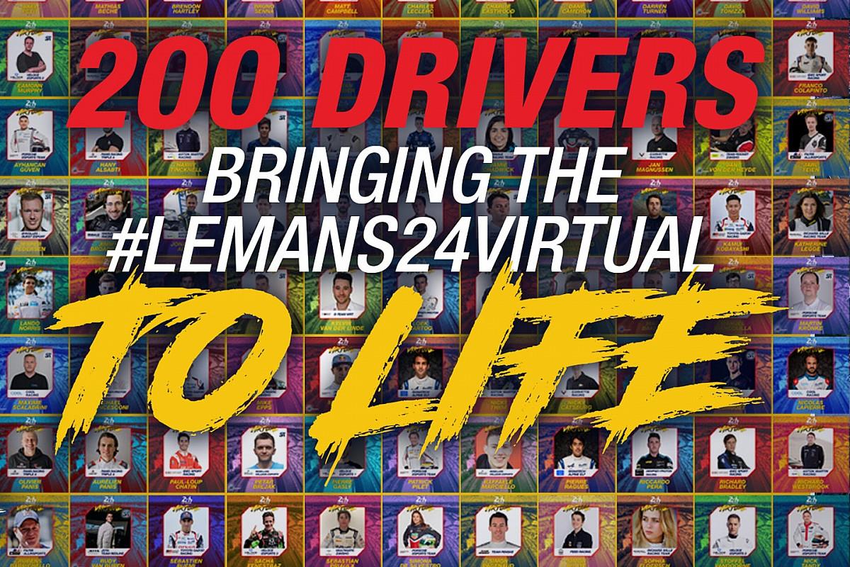 Virtual 24h Le Mans: i nomi di tutte le stelle della entry list