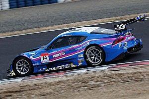 岡山公式テスト|5回中断の波乱となったセッション3、14号車WAKO'S Supraが最速