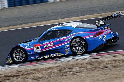 Toyota Supras sweep final day of Okayama Super GT test