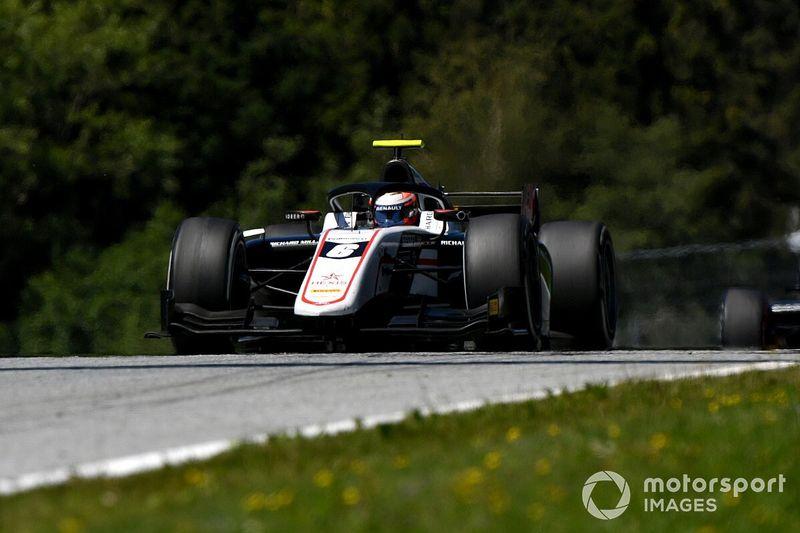 فورمولا 2: لوندغارد ناشئ رينو يسجل أول فوز له من بوابة السباق الرابع في النمسا