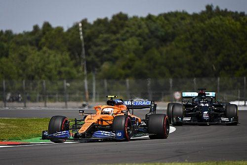 Quinto, Norris prevê Mercedes dando volta no resto do grid em Silverstone
