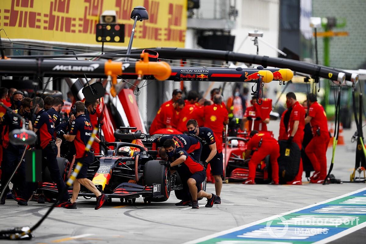 Macaristan'da en hızlı pit stopu yine Red Bull yaptı