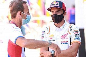 Honda plakt nog geen datum op terugkeer Marquez