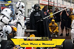 "F1 Stories: quando Star Wars ""invase"" Monaco"