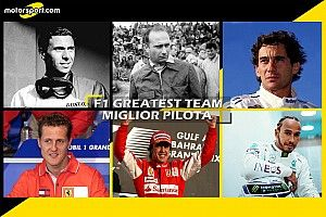 F1 Greatest Team: è Hamilton la prima guida
