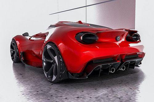 A Toyota tervezője megmutatta, milyen lehetne az Alfa Romeo 4C utódja