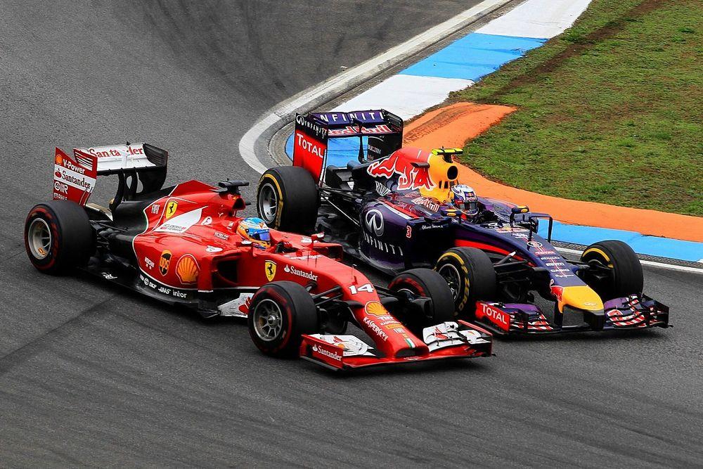 """F1 - Ricciardo relembra duelo com Alonso na Alemanha em 2014: """"Ganhei respeito ali"""""""