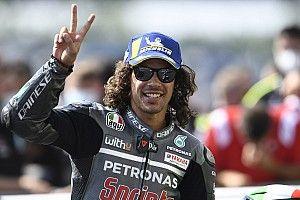 """Morbidelli: """"Tras la carrera, lo único que quería era abrazar a Valentino"""""""