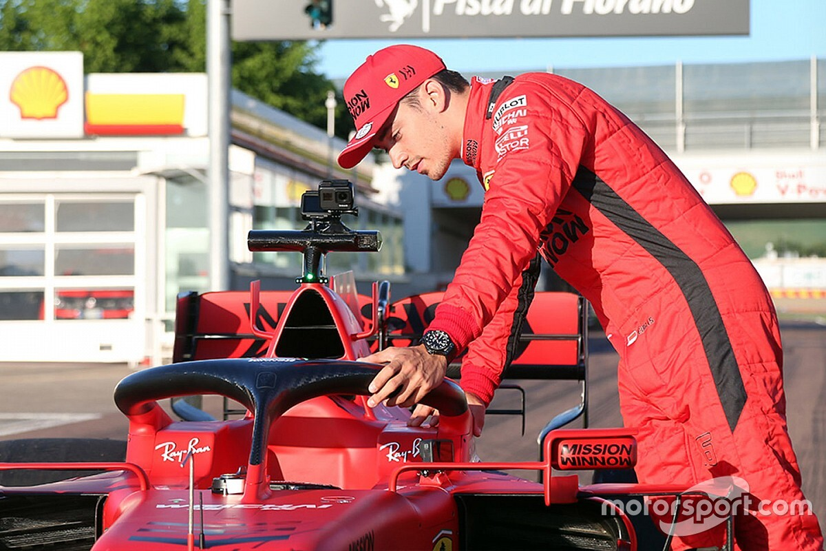 "Leclerc: carreras virtuales fueron ""muy útiles"" mentalmente"