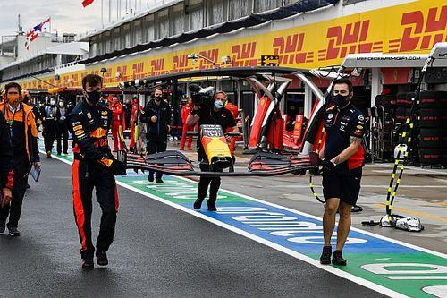 Horner révèle les circonstances du crash de Verstappen en Hongrie
