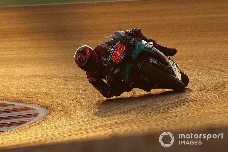 Test MotoGP Losail, Giorno 2: Quartararo in vetta, cade Marquez