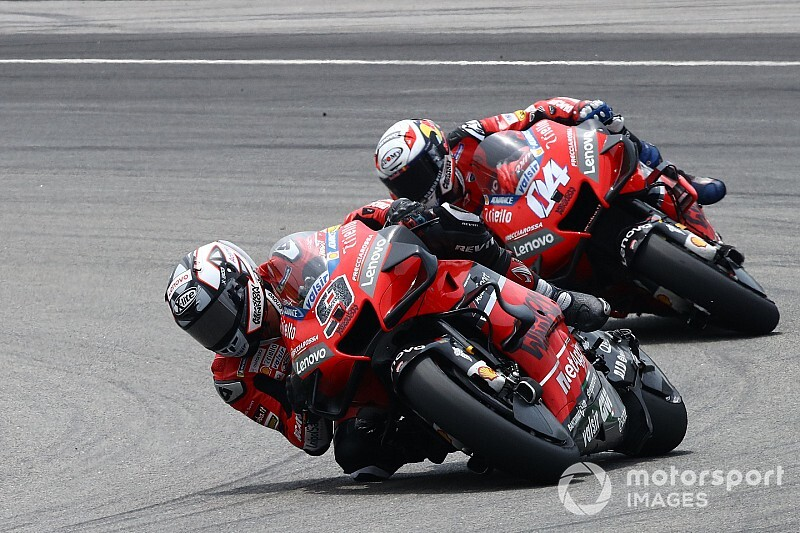"Ducati ""struggling"" to match rivals' pace - Petrucci"