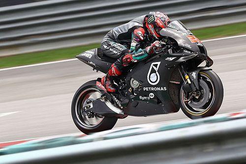 Quartararo fastest again in Sepang, Marquez crashes