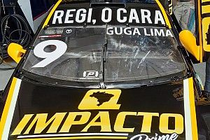 Guga Lima presta homenagem a Reginaldo Leme em Interlagos
