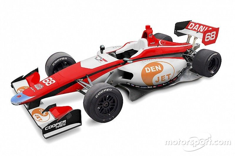 Frost signs for Andretti Autosport Indy Lights team