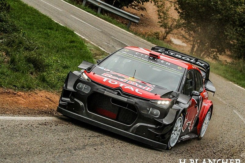 WRC: Citroen prova un'aerodinamica 2020 ancora più evoluta!