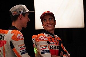 Alex Marquez had to stop Marc giving him MotoGP advice