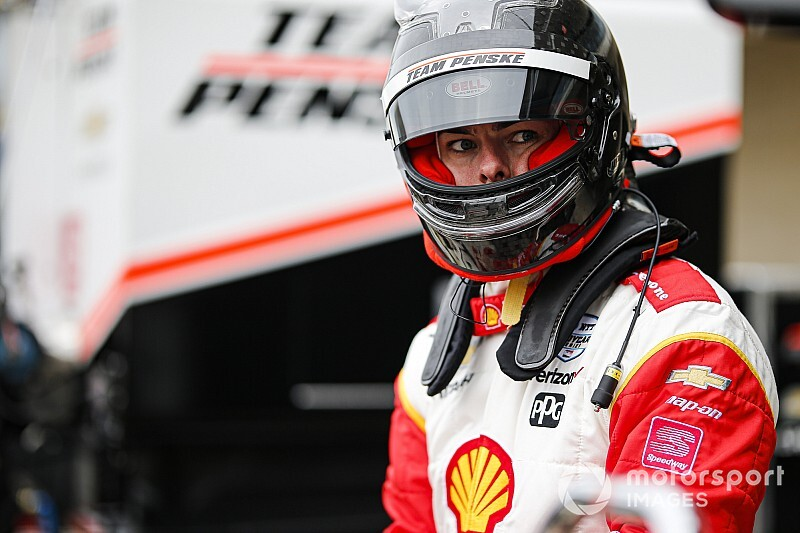 """I loved it!"" says McLaughlin after first IndyCar oval test"