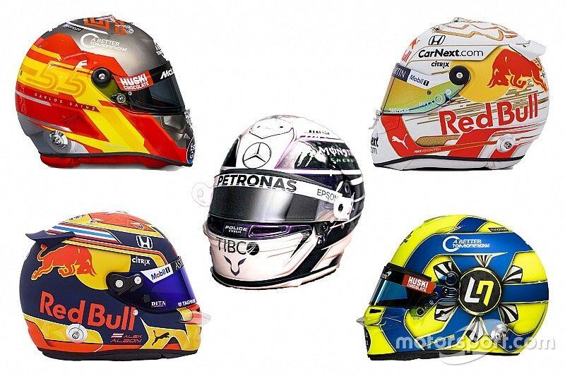GALERÍA: los cascos de los pilotos de F1 para 2020