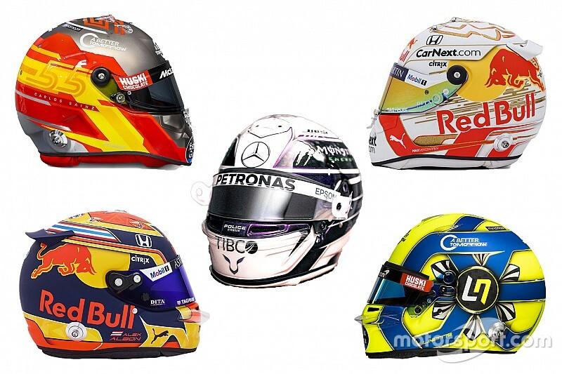 Fotos: los cascos de los pilotos de F1 para 2020
