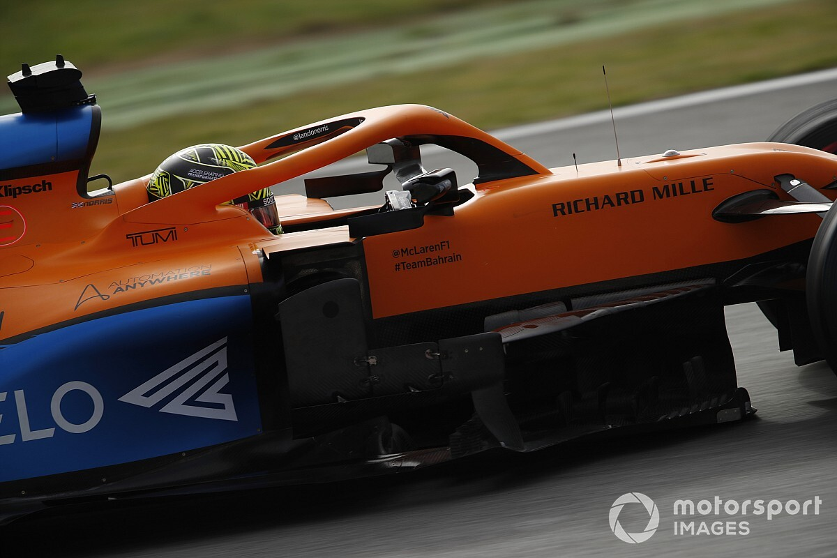 "Physical forces ""a challenge"" on F1 return, says Norris"