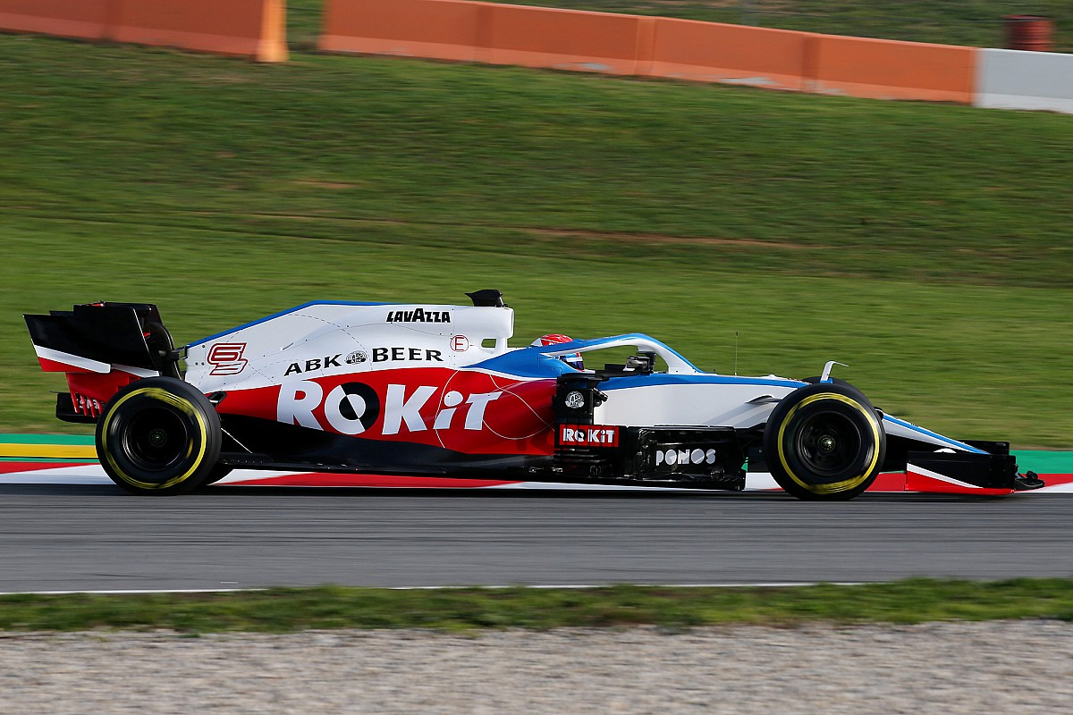 Williams to reveal new F1 livery after terminating ROKiT deal