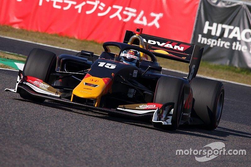 Vips tops opening day of Suzuka Super Formula test