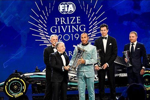 Hamilton ismét kilógott a sorból - galéria az FIA-gáláról