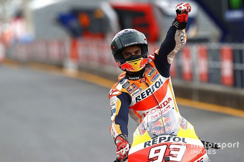 Márquez logra el décimo triunfo de 2019 en Motegi