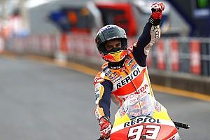 """Márquez quiere hacer podio """"en todas las carreras"""""""