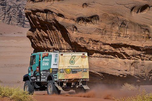Versteijnen door technische problemen uit Dakar 2020