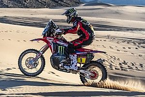 "Brabec ""riding my butt off"" to get revenge for Dakar '19"