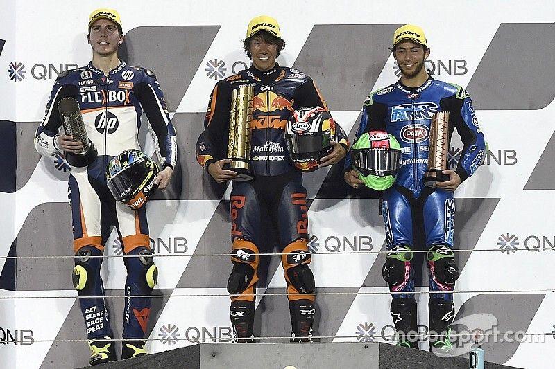 Qatar Moto2: Nagashima takes surprise maiden win