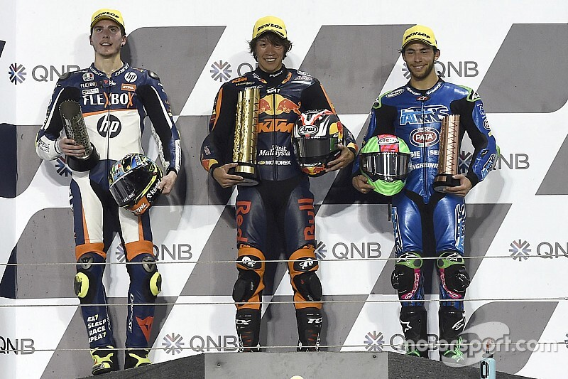 Qatar Moto2: Nagashima takes surprise maiden win