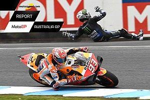 Report MotoGP: Marquez da solo vince il mondiale team