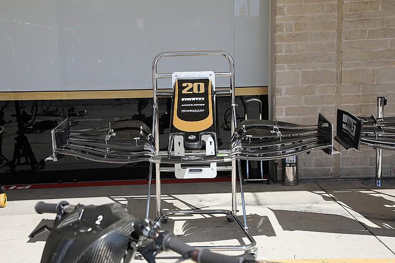 Haas testa nova asa dianteira 'em casa' para avaliar conceitos para 2020
