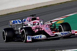 Perez topt ochtendsessie in Barcelona, Mercedes baart opzien
