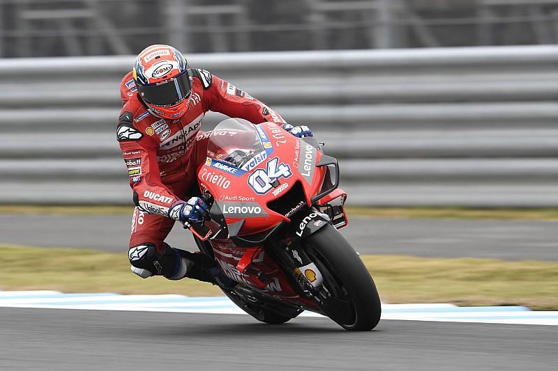 """Dovizioso: """"Las Yamaha son fuertes a una vuelta, en ritmo no tanto"""""""