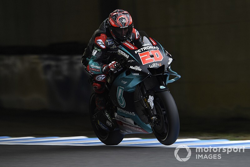 MotoGP, Motegi, Libere 2: ancora Yamaha, stavolta con Quartararo