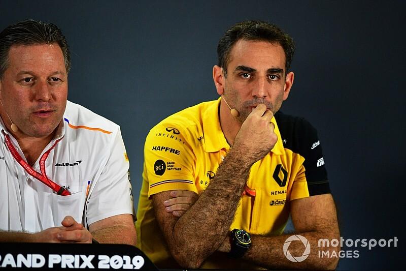 Renault: Ugyanazt csináljuk, mint a McLaren