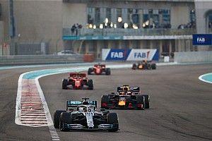 Hamilton cierra 2019 arrasando; Sainz tira de épica