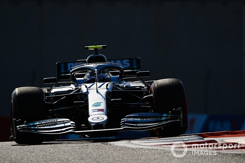 Abu Dhabi GP 2. antrenman: Grosjean'la çarpışan Bottas lider!