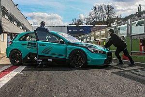 TCR Italy: Jelmini ancora con la Hyundai, si allena a Vallelunga
