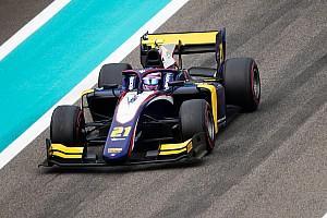 Marino Sato in FIA F2 2020 con il team Trident