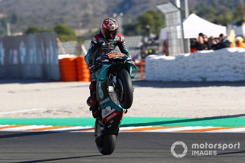 Quartararo nyerte az idei utolsó MotoGP-időmérőt, Marquez második
