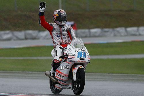 "Martin hails ""incredible"" maiden Moto3 podium"