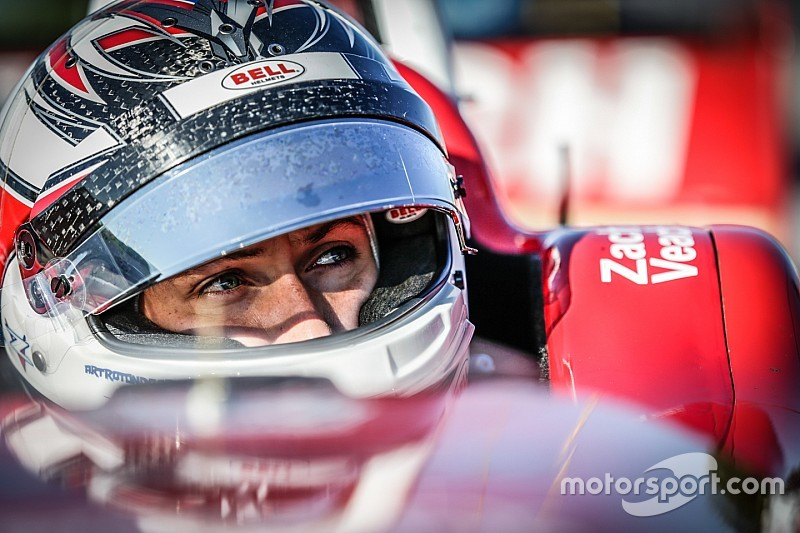 Belardi dominates Indy Lights testing at IMS