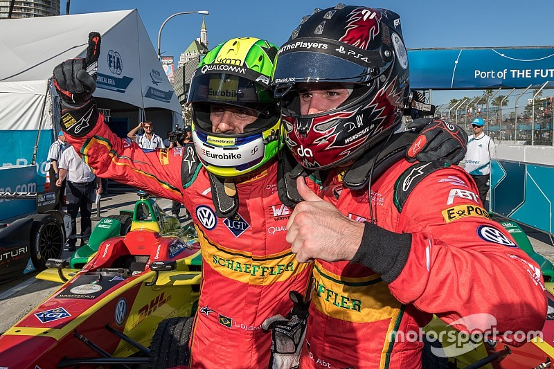 "Abt and di Grassi: ""We just fit together perfectly"""