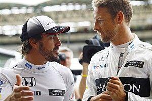 「マクラーレンが復活すれば……」アロンソのF1復帰を確信するバトン