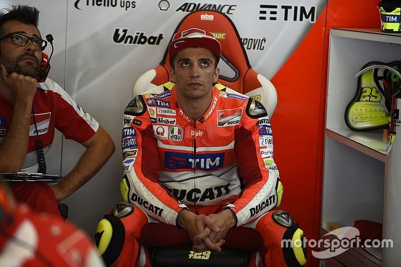 Iannone to start last in Assen after Lorenzo crash